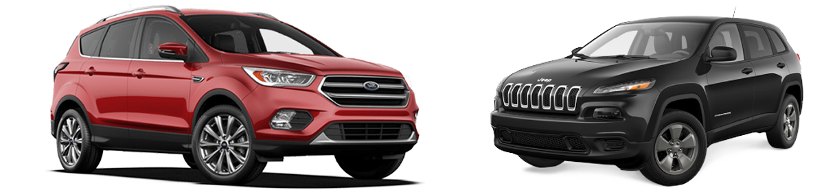 Ford Escape vs Jeep Cherokee