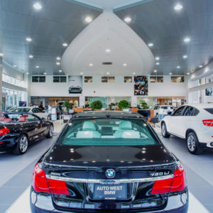 Auto West BMW Showroom