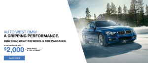BMW Cold Weather Tires Oct 2017