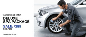 BMW Deluxe Spa Spring Special