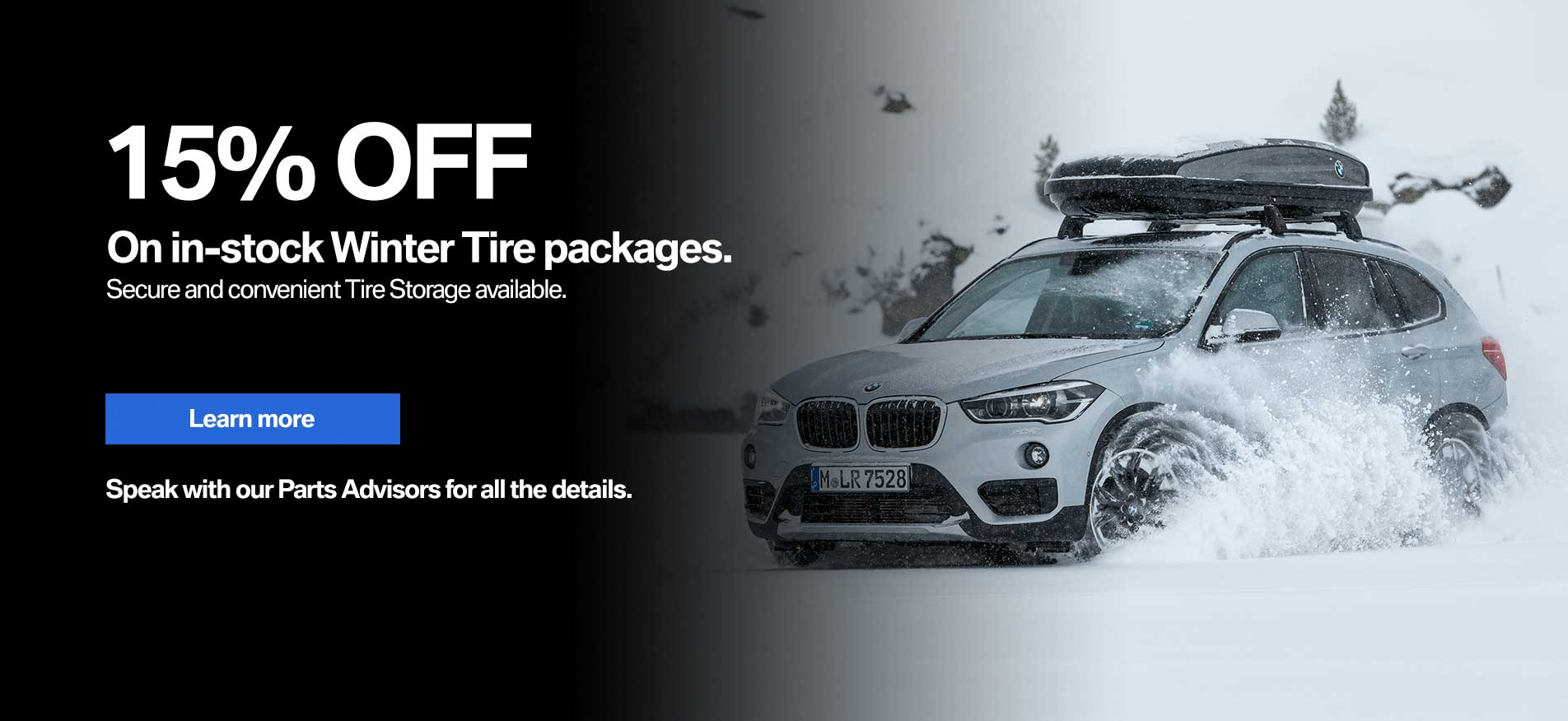 Auto West BMW Winter Tire Packages Special