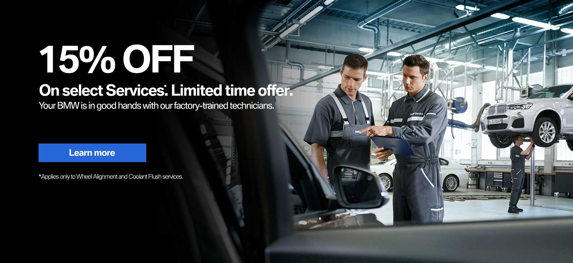 Auto West BMW Service Promotion