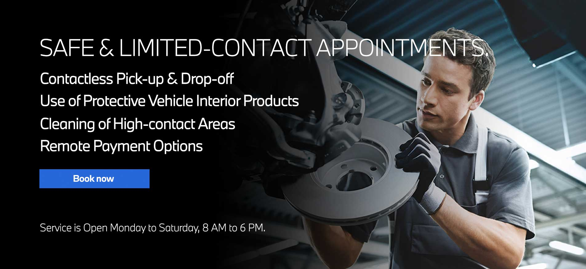 Auto West BMW Contactless Service