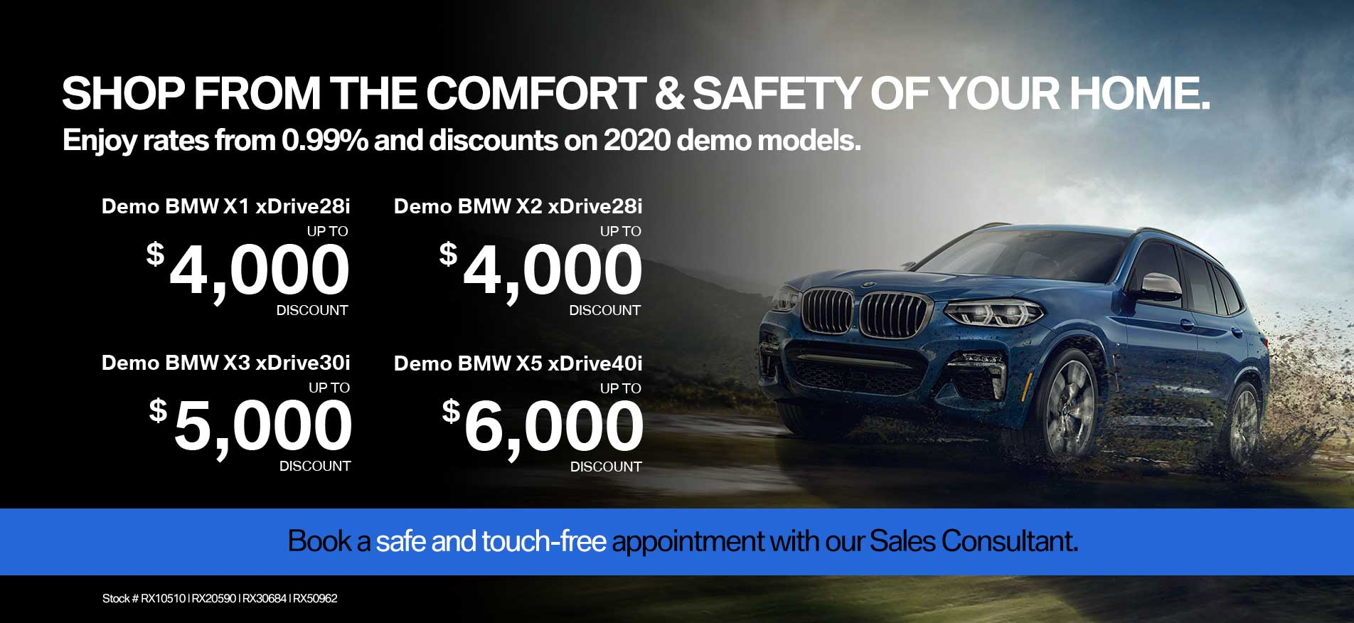 Auto West BMW Demo Sale April 2020