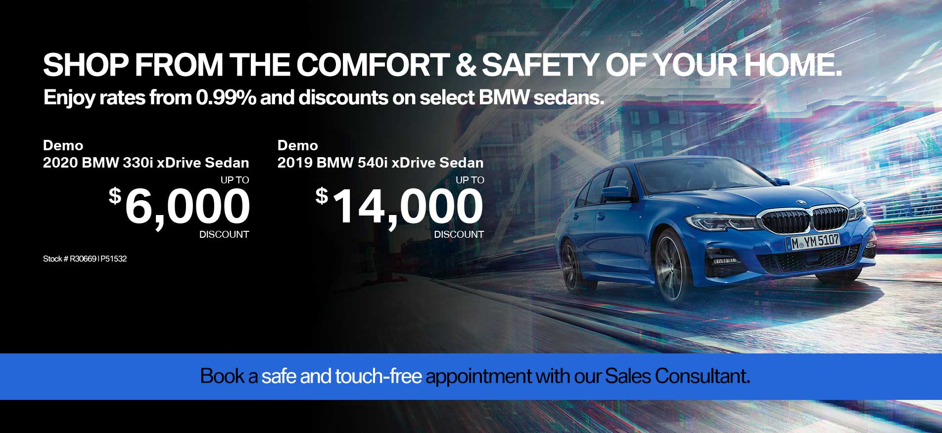 Auto West BMW Sedan Demo Sale April 2020