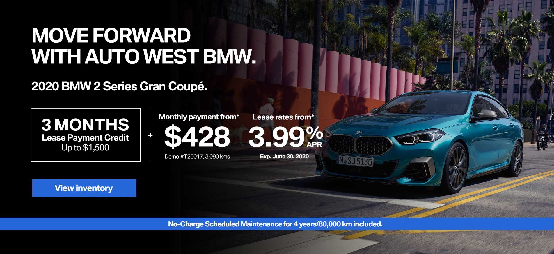 Auto West BMW Demo Lease Payment 2 Series Gran Coupe