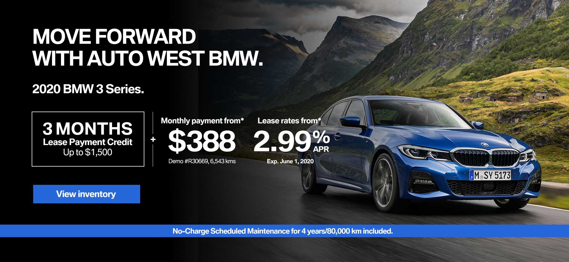 Auto West BMW Lease Payment Credit 3 Series