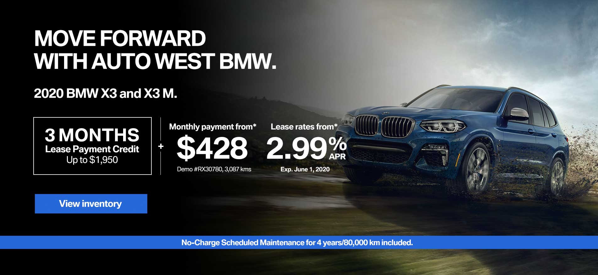 Auto West BMW Lease Payment Credit X3