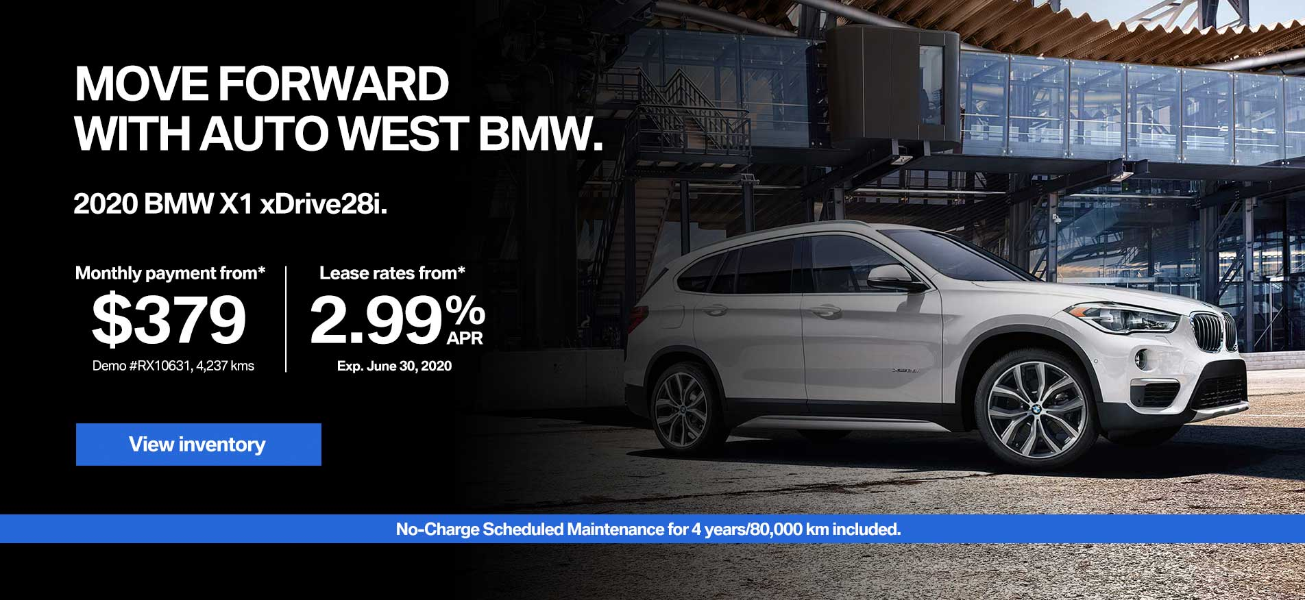 Auto West BMW Lease Payment X1
