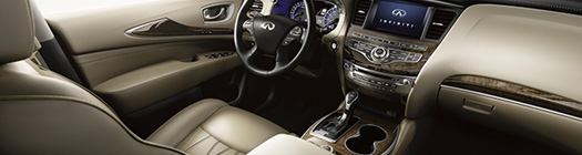 2019 Infiniti QX60 interior design