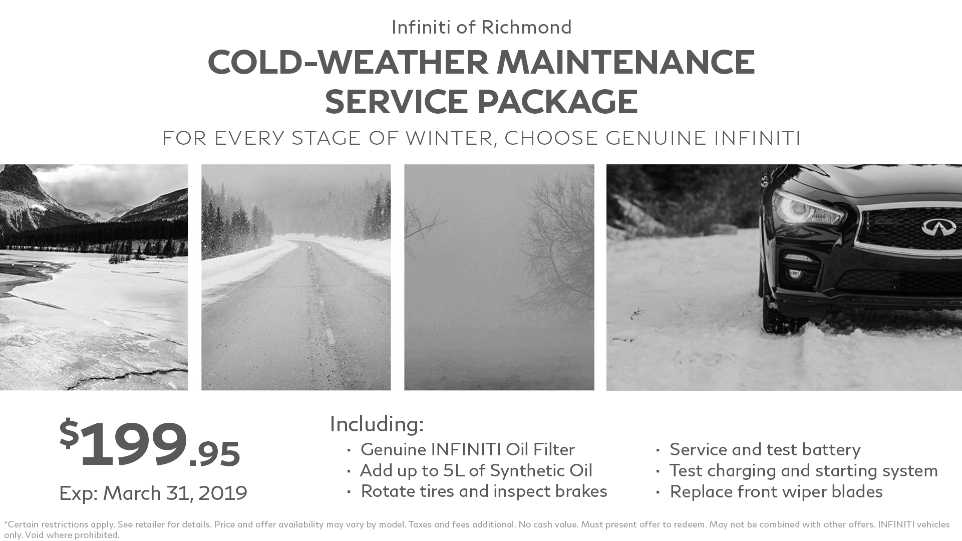 Cold-Weather Maintenance Service Package