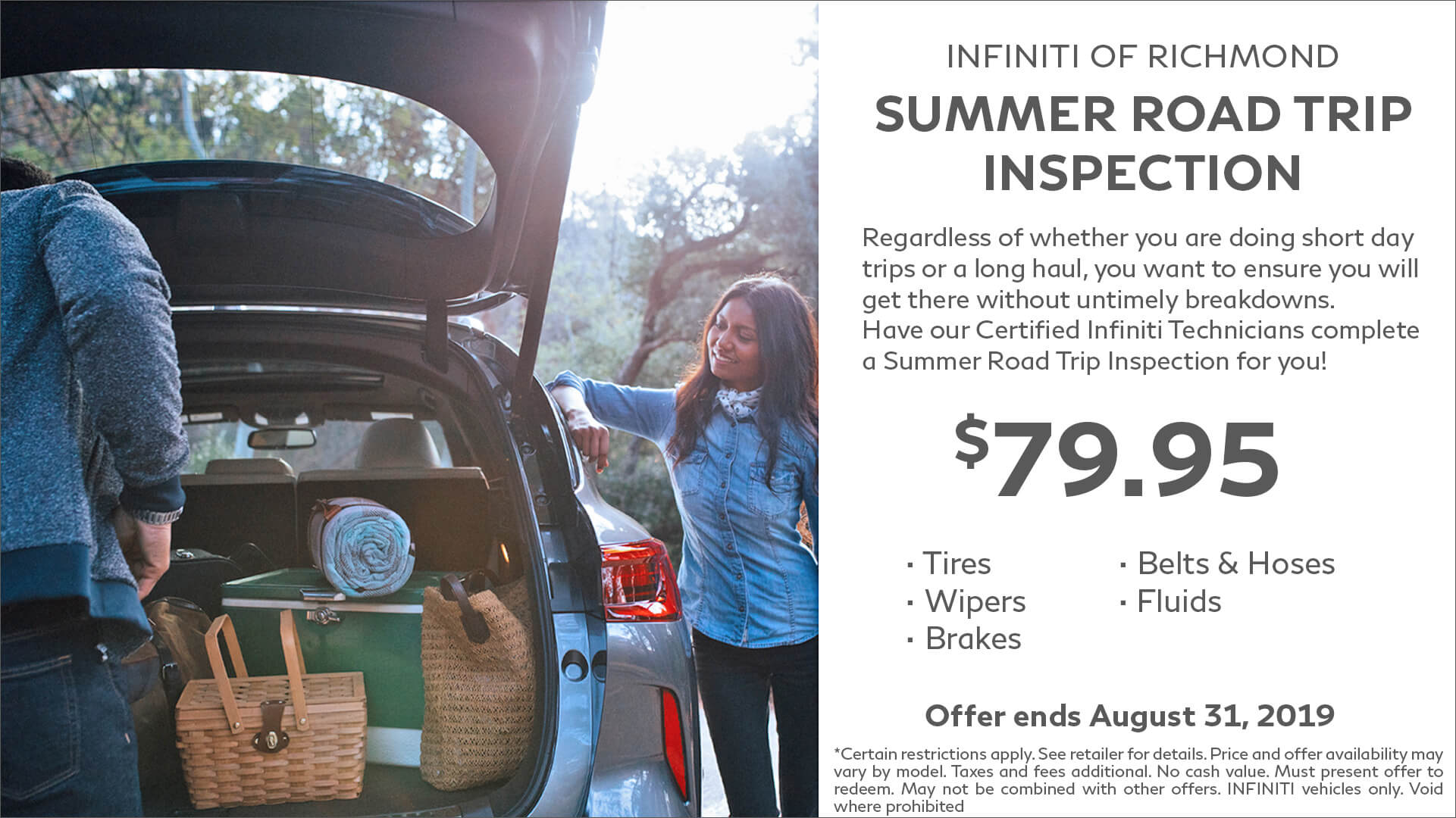 Summer Road Trip Inspection Service