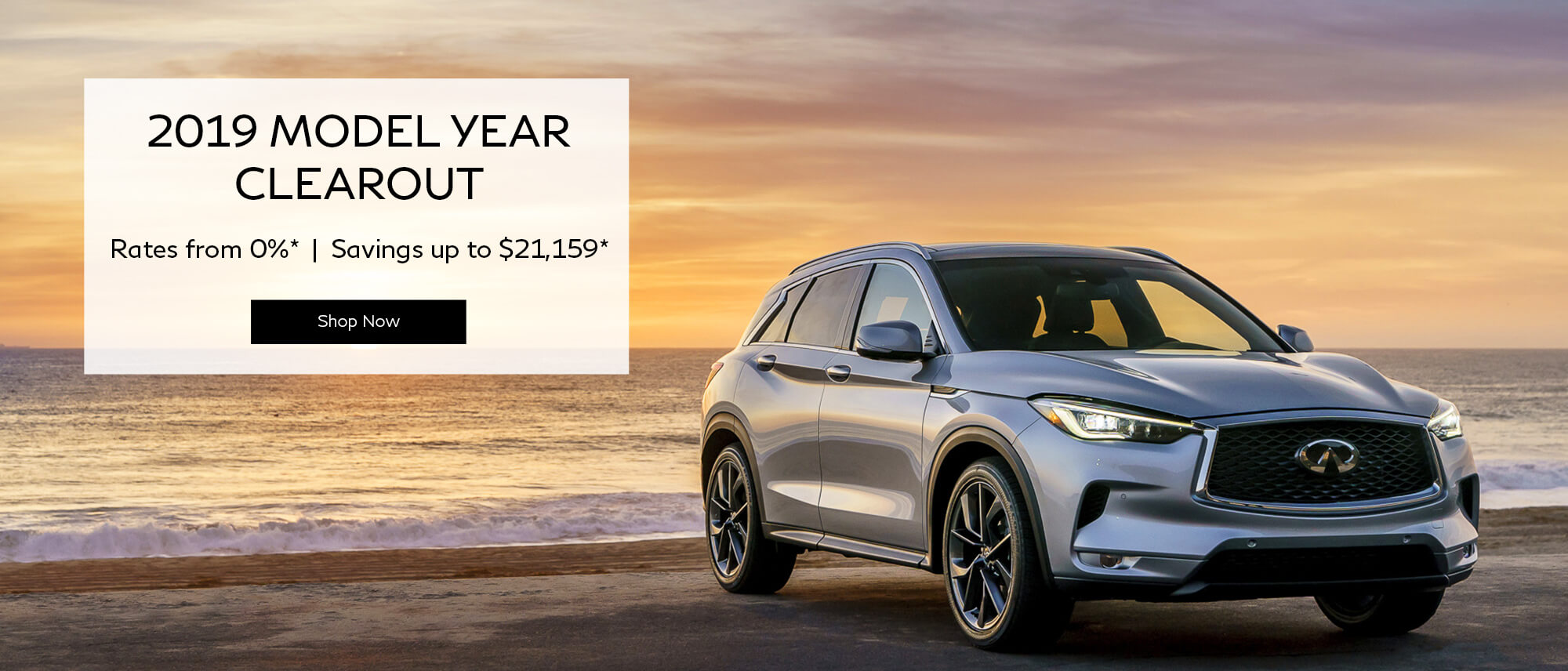 2019 MODEL YEAR CLEAROUT at Infiniti of Richmond