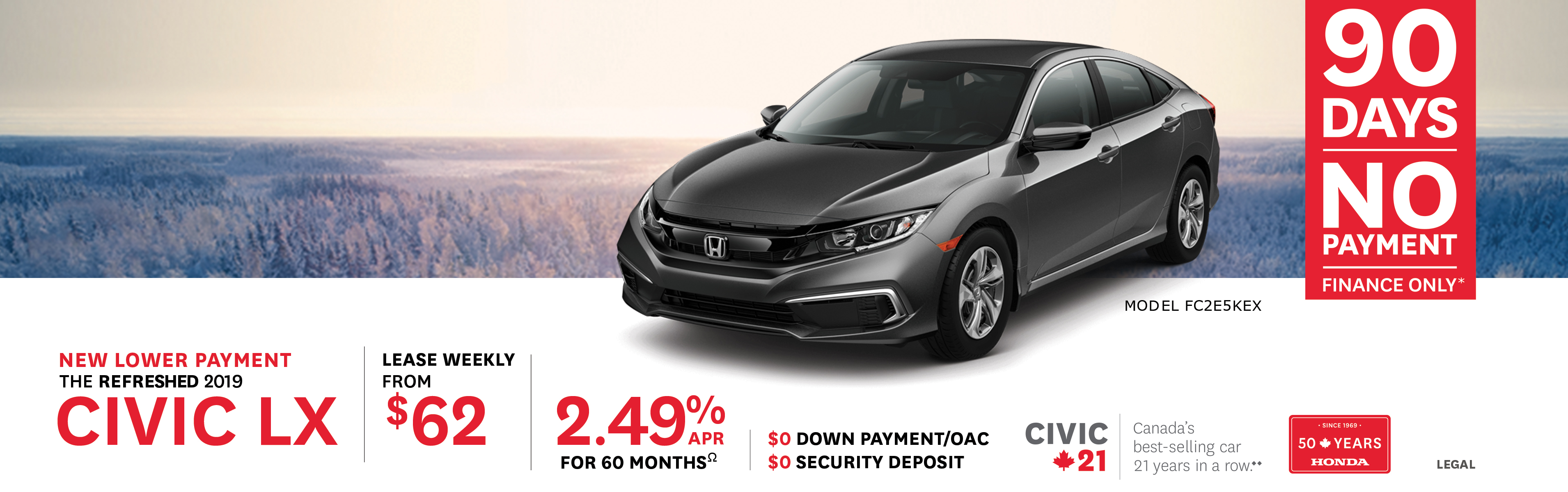 2019 Feb Honda Offer - Civic