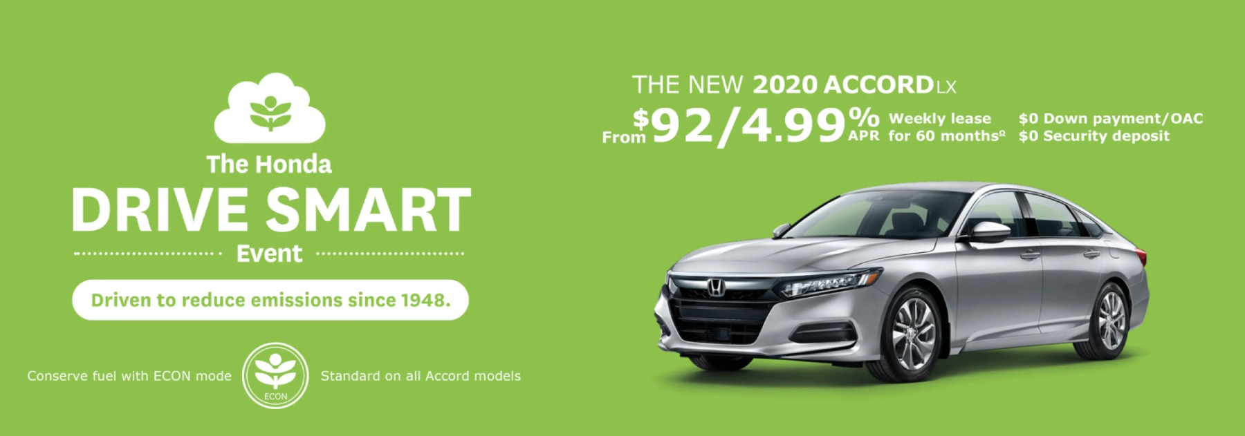 April 2020 Accord Offer