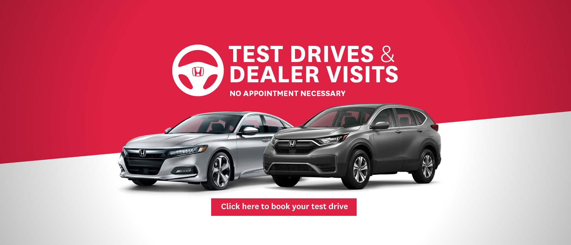 West City Honda Test Drive Slider Update