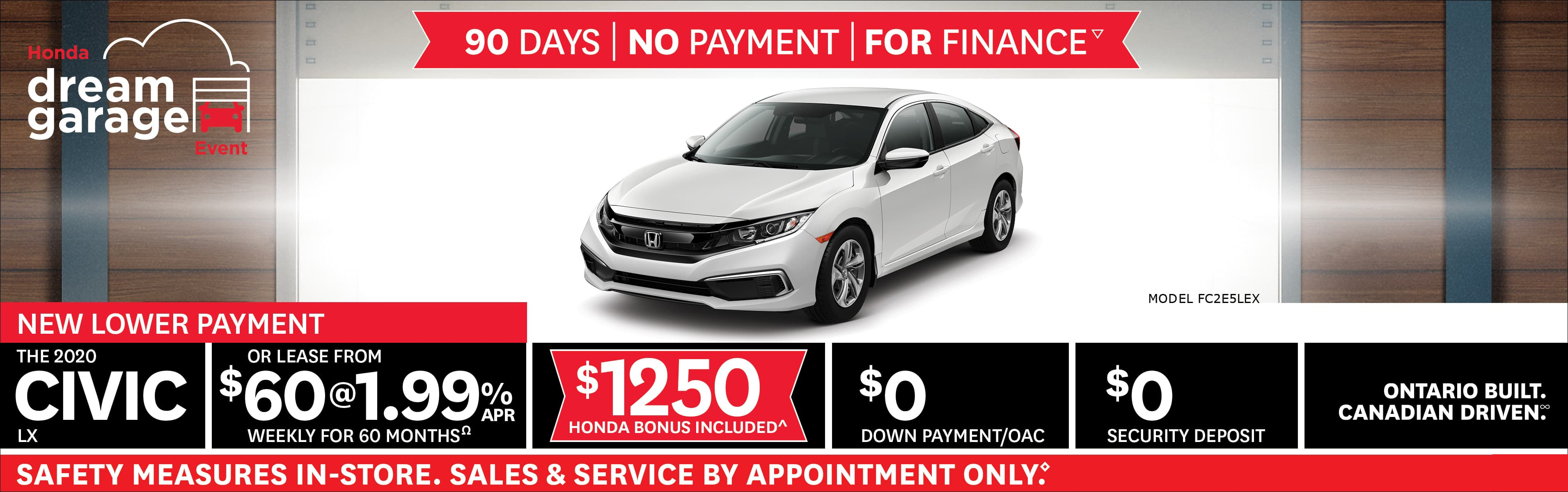 Honda Civic Feb 2021 Incentive