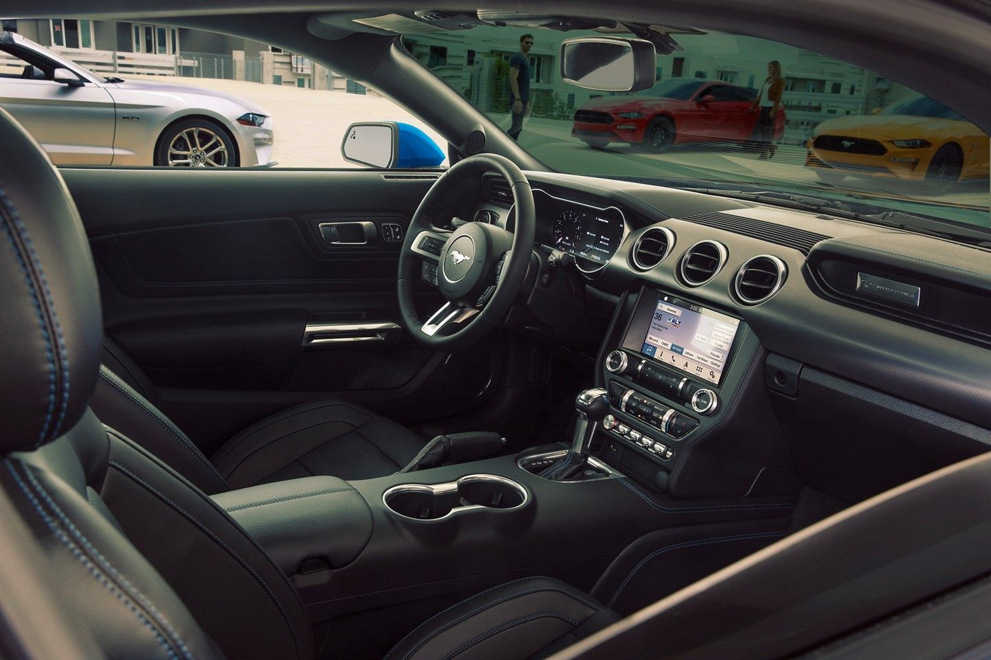 2018 Ford Mustang interior view