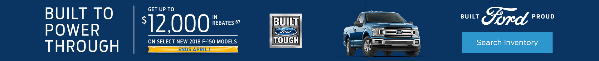 Ford Incentive March 2019