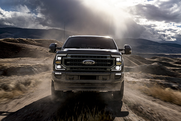 2020 Ford Super Duty Black Exterior