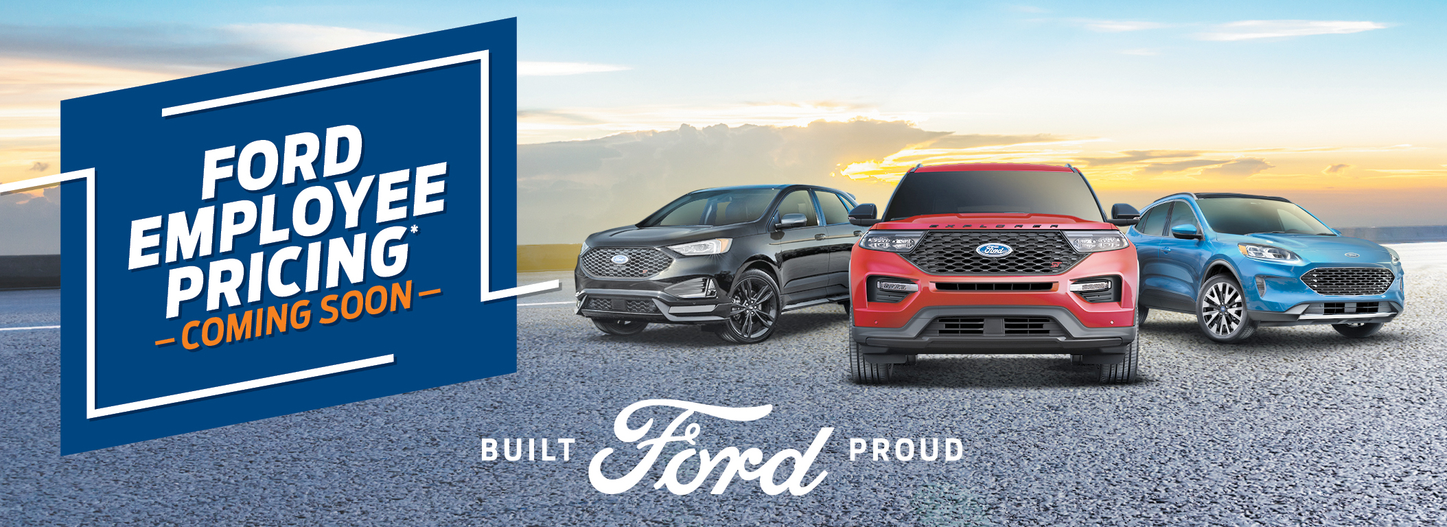 Ford Employee Banner 2020 Coming Soon