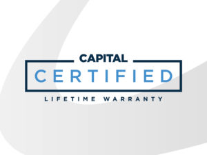 Certified Lifetime Warranty