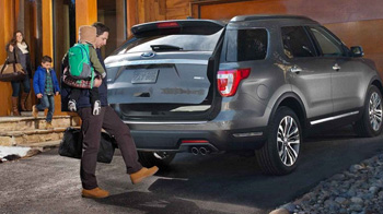 Platinum in Magnetic with available hands free foot activated liftgate