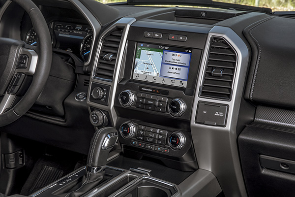 2020 Ford F150 Truck Interior View