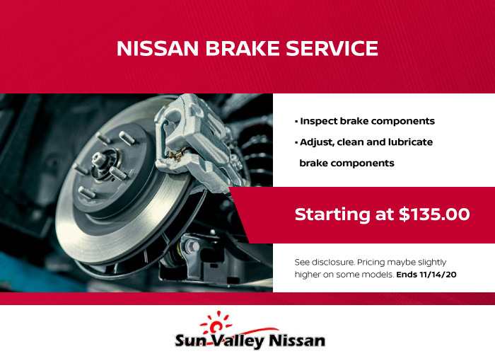 Nissan Brakes Coupon