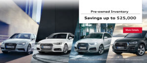 savings on preowned vehicles