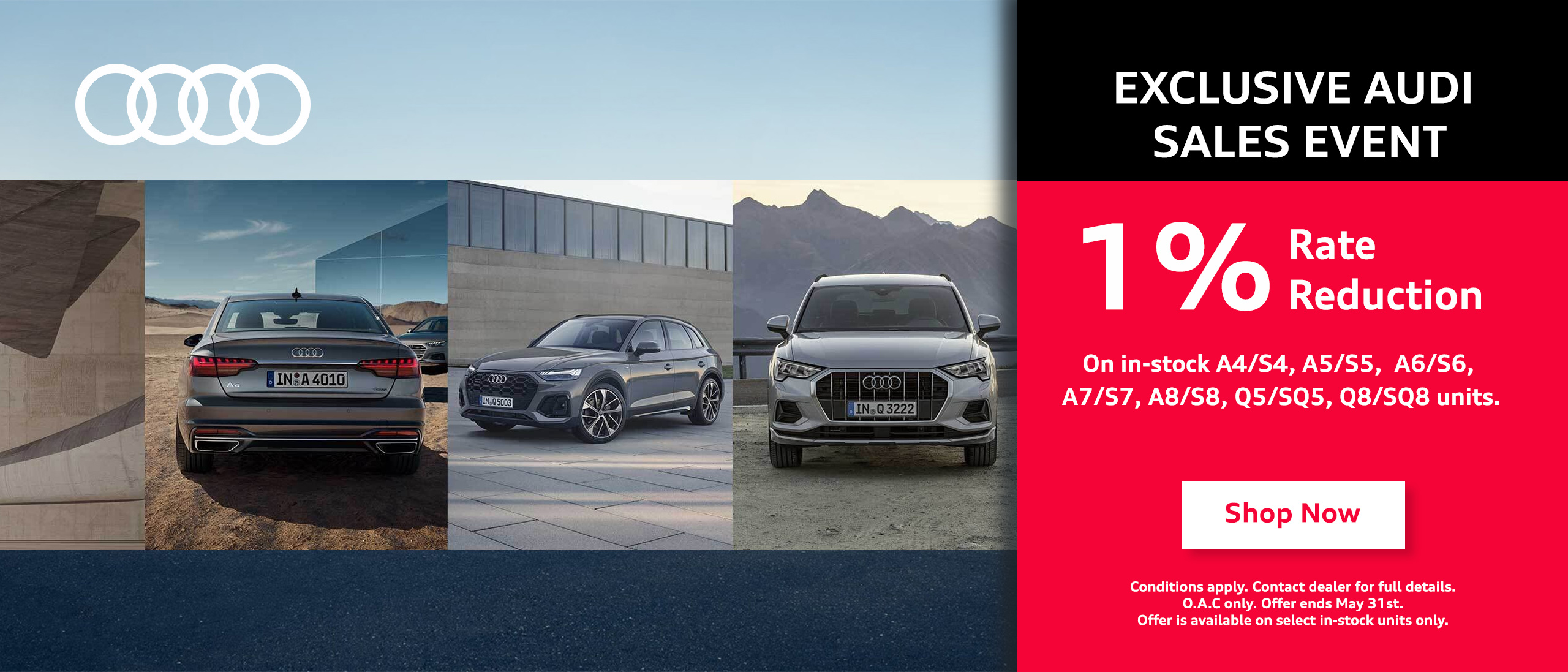 Exclusive Audi Event May