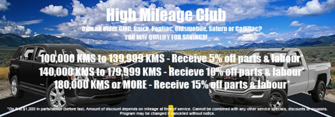High Mileage Club