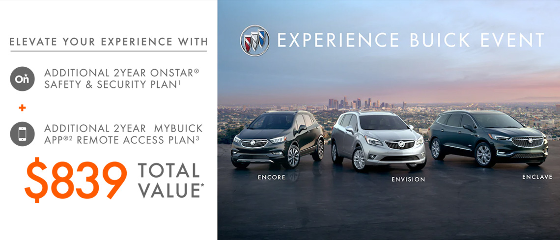 April Buick offer