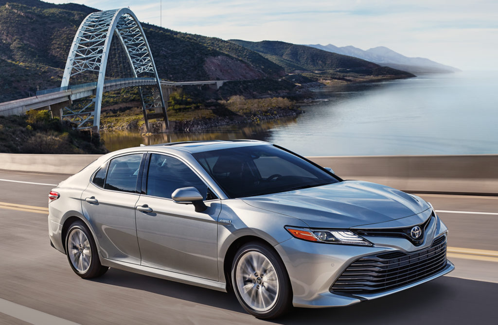 The 2019 Toyota Camry XLE