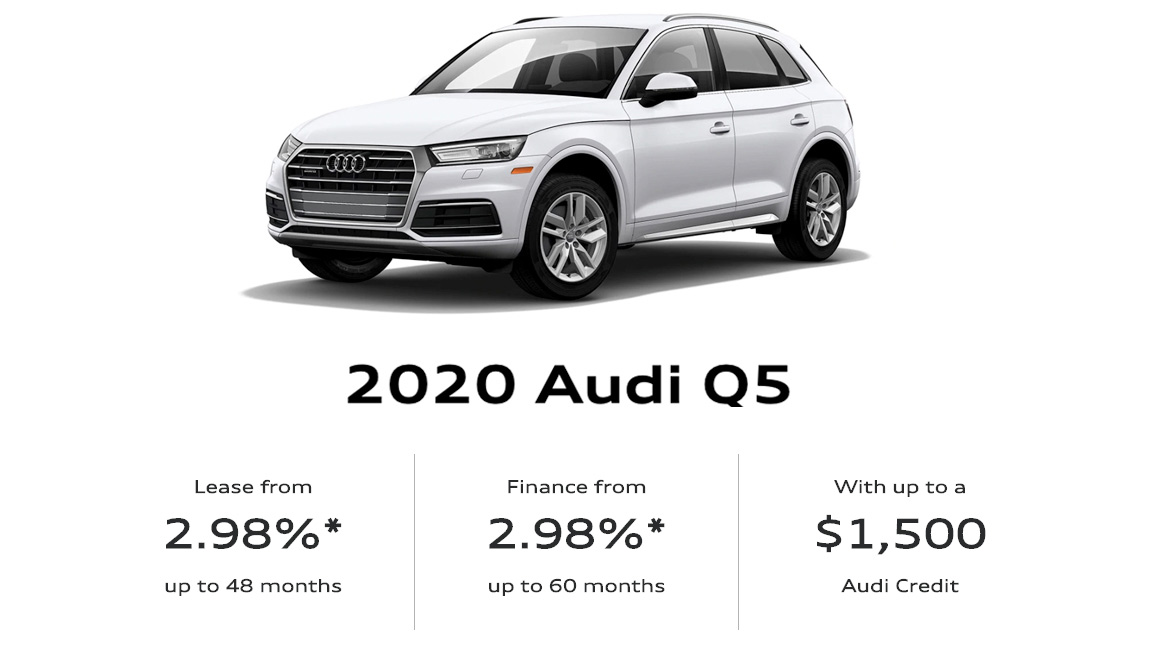 March 2020 Audi Q5 Offer