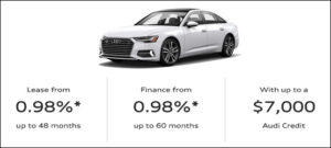 March 2020 Audi Offer Banner