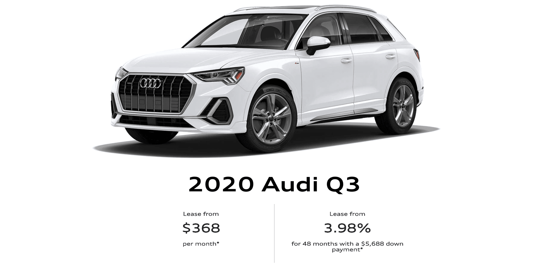 2020 Audi Q3 To