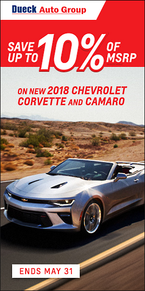 Chevrolet Performance 10% of MSRP Sale