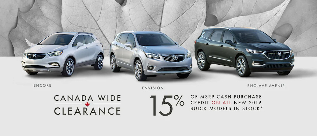 October Buick offer