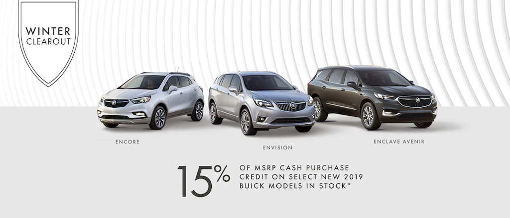 December Buick incentive