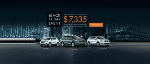 Black Friday Event Buick November 2018 Incentive Slide