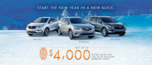 January Buick offer