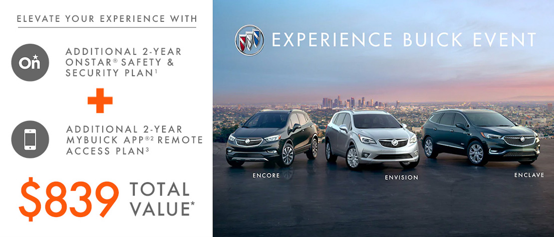 May Buick offer