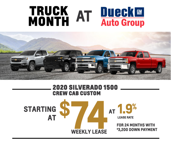 Truck Month At Dueck