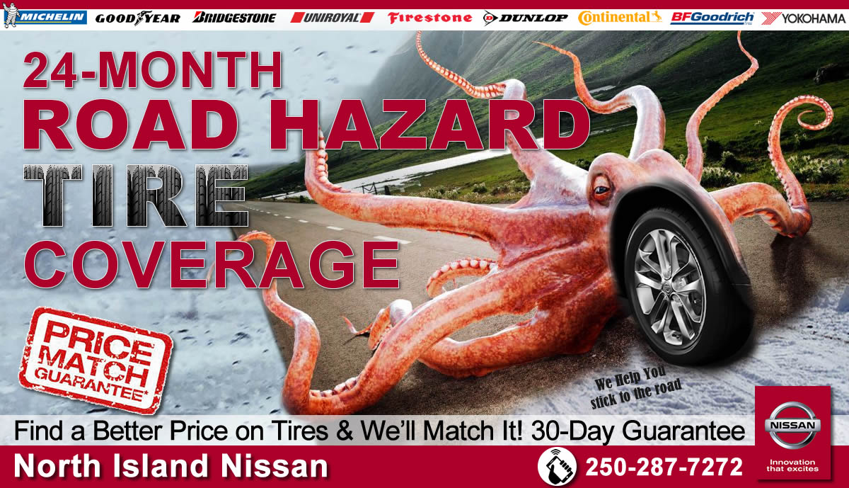 24 month road hazard and price match guarantee