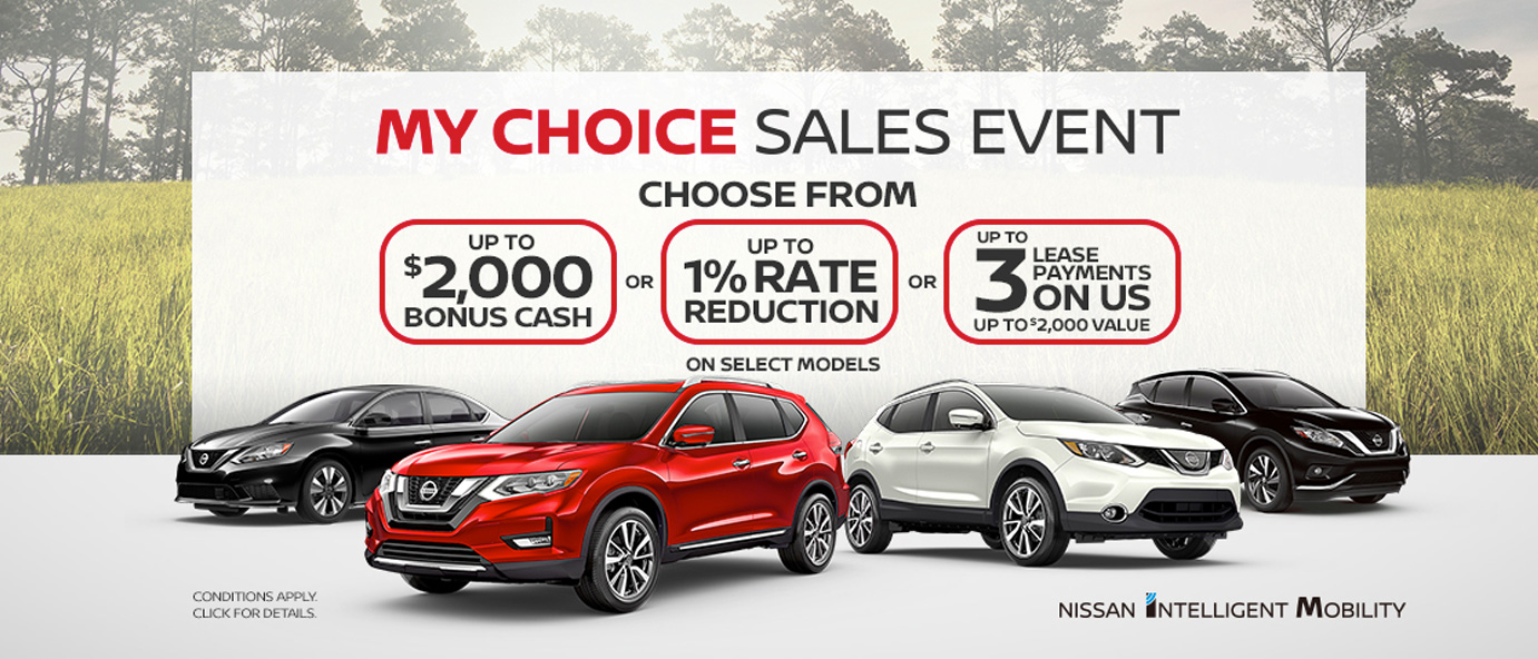 March Nissan Incentive
