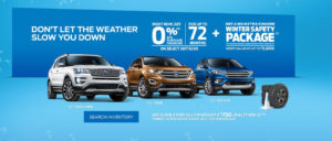 October Ford offer
