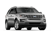 2017 Ford Explorer Silver
