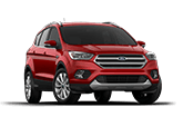 2017 Red Ford Escape