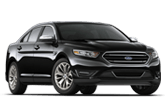 2017 black Ford Taurus